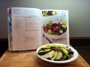 Beet and bacon salad