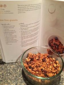 Nut free granola pg 60