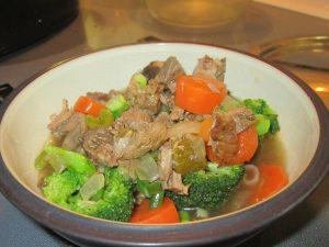 Leftover Roast Beef Soup