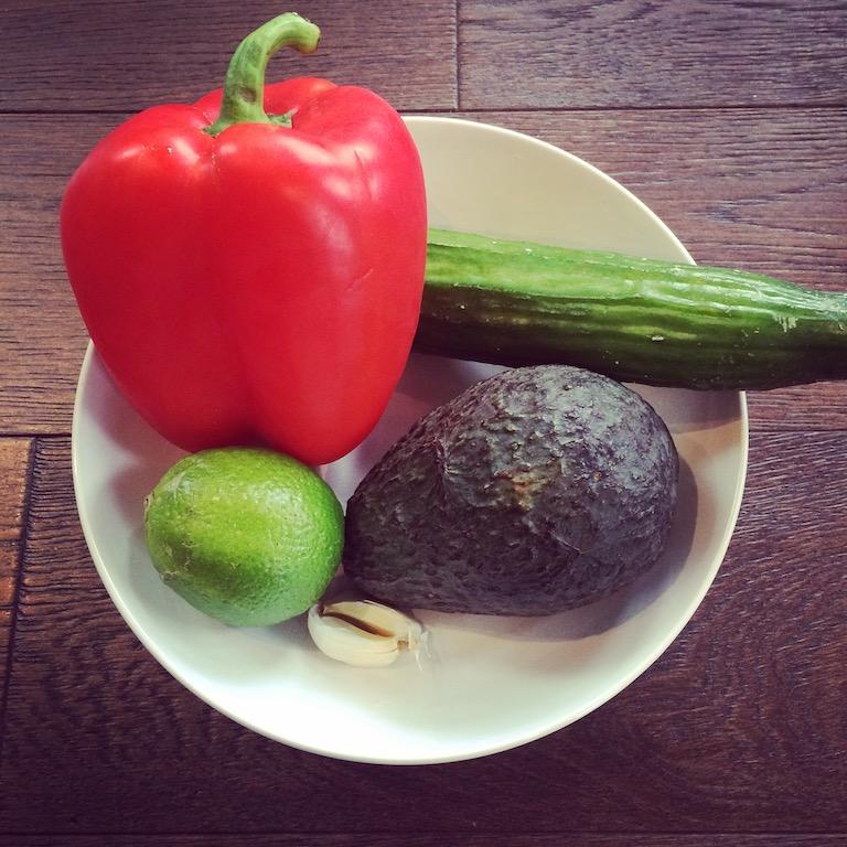 Avocado Cucumber Salad