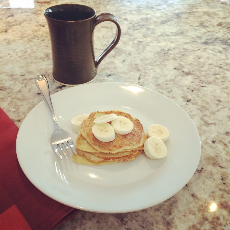 2-Ingredient Pancakes (bananas and eggs)