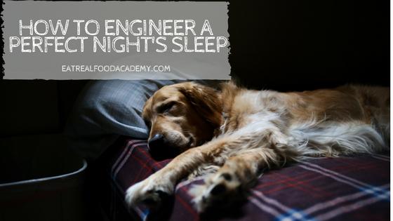 How to engineer a perfect night's sleep