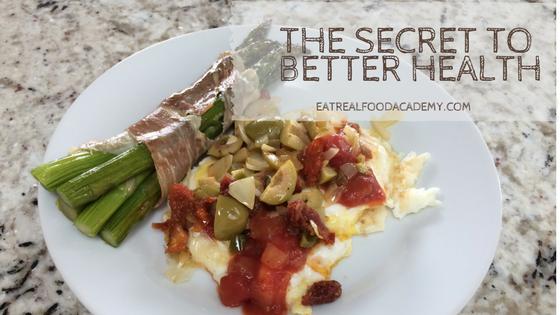 The secret to better health