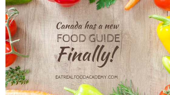 Canada has a new food guide