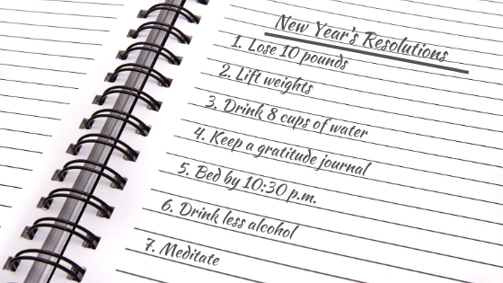 Top 5 Mistakes When It Comes to New Year's Resolutions
